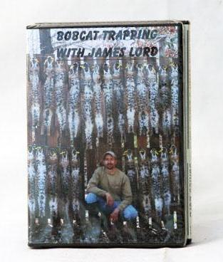 DVD Bobcat Trapping with J. Lord