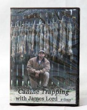DVD Canine Trapping with J. Lord