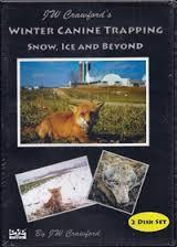 DVD JW Crawford's Winter Canine Trapping Snow, Ice, and Beyond