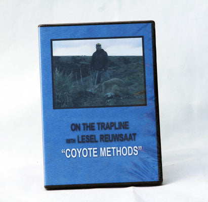 DVD On the Trapline with Lesel Reuwsaat  (Coyote Methods)