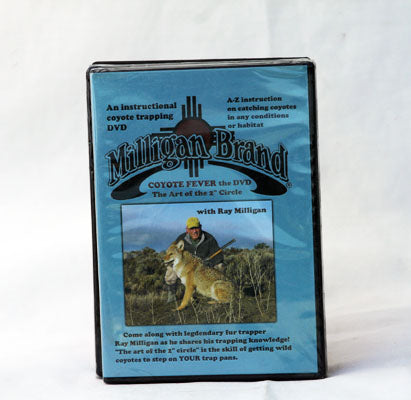 "DVD Ray Milligan Coyote Fever - The Art of the 2"" Circle"