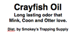 Crayfish Oil 16 oz
