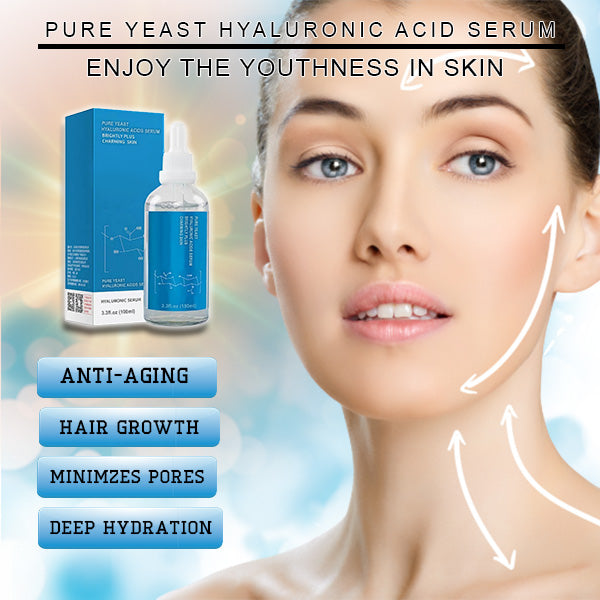 PURE YEAST HYALURONIC ACID SERUM