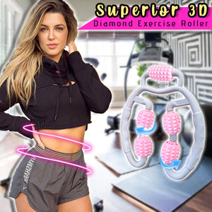Superior 3D Diamond Exercise Roller
