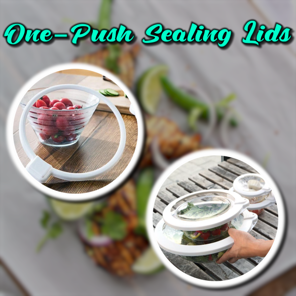 One-Push Sealing Lids