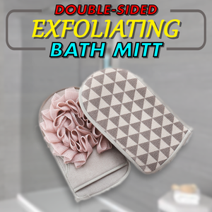 Double Sided Exfoliating Bath Mitt