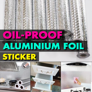 Oil-proof Aluminium Foil Sticker