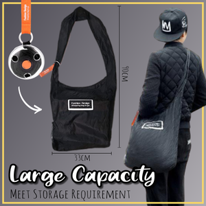 RollUp Retractable Shopping Bag