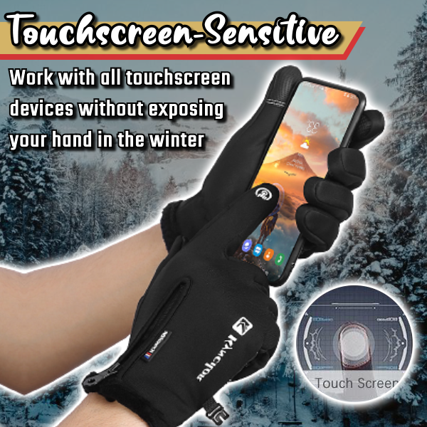 Unisex Touchscreen Thermal Gloves