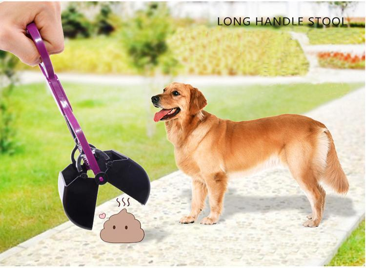 Handle Dog Pooper Scooper Pet Shovel