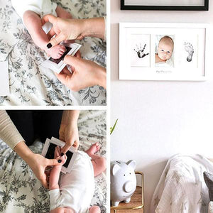Inkless Baby Handprint & Footprint Memories Souvenir