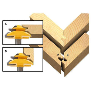 Lock Miter Router Bits