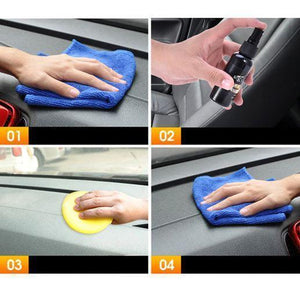 Refurbished Car Leather Cleaner