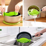 Silicone Clip On Pot Strainer