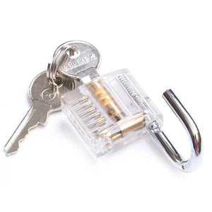 Transparent Locks - NAIERDI Lock Pick Practice Padlock