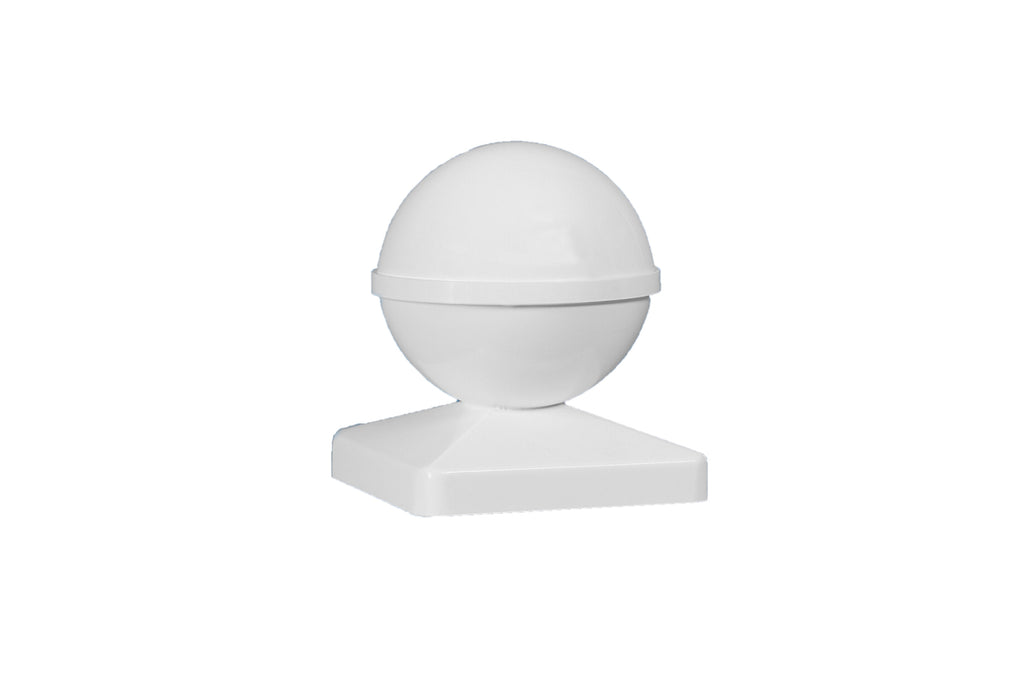 BALL PVC POST CAP
