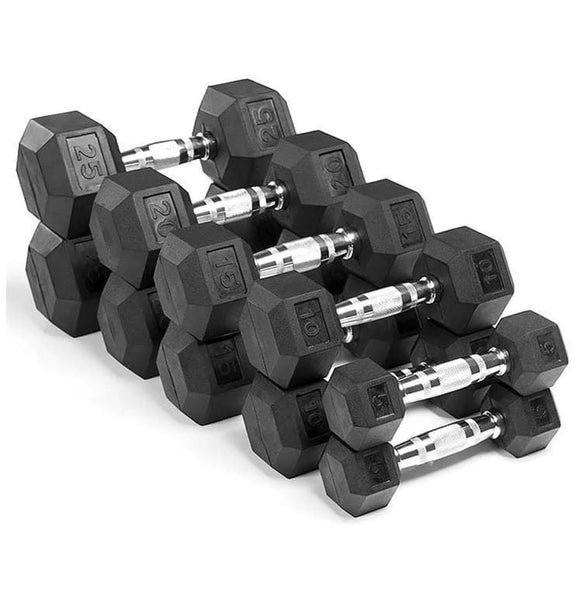 50 Lbs Hex Dumbbell - Single