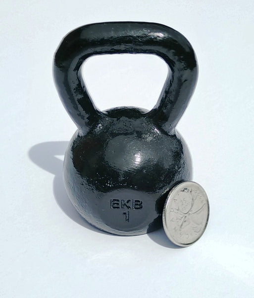 Mini - 1 lb Cast Iron Replica Kettlebell