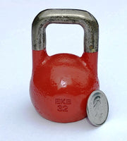 Red Mini Replica 1 lb Pro Grade Kettlebell