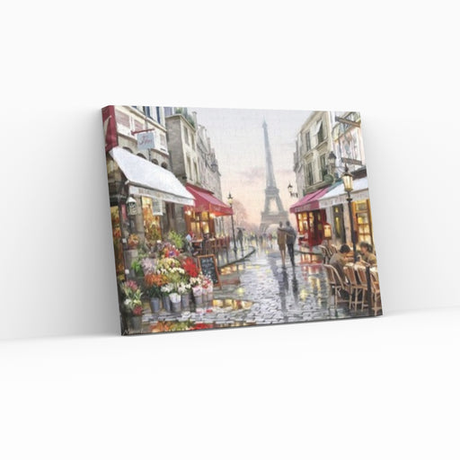 ROMANTIK I PARIS - Paint by Numbers med gratis hurtig levering