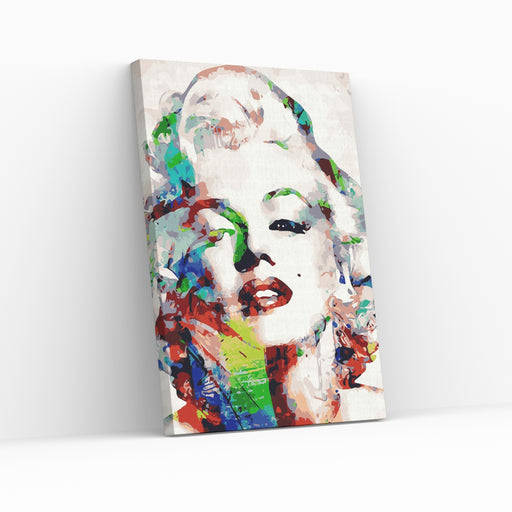 MARILYN MONROE - Paint By Numbers med hurtig og GRATIS levering