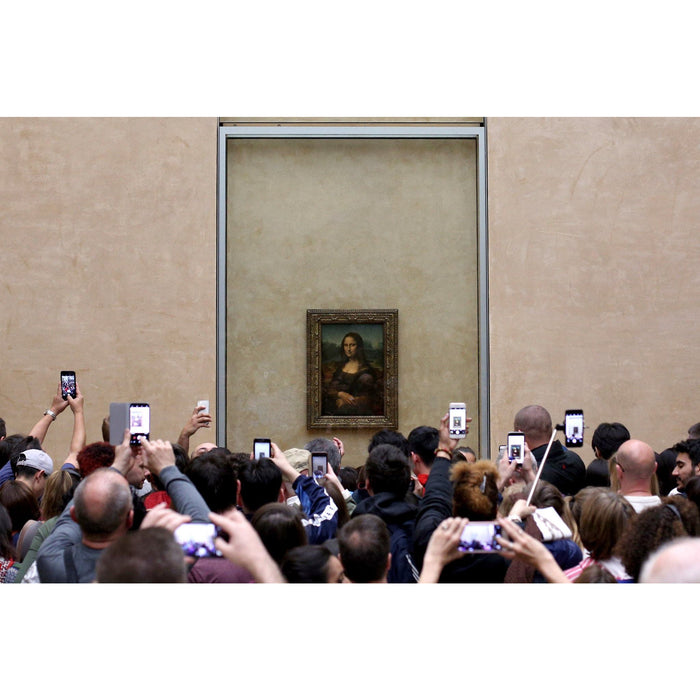 MONA LISA -Leonardo da Vinci - Paint By Numbers med gratis og hurtig levering