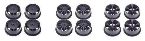 JR MINI 4WD CARBON WHEEL SET