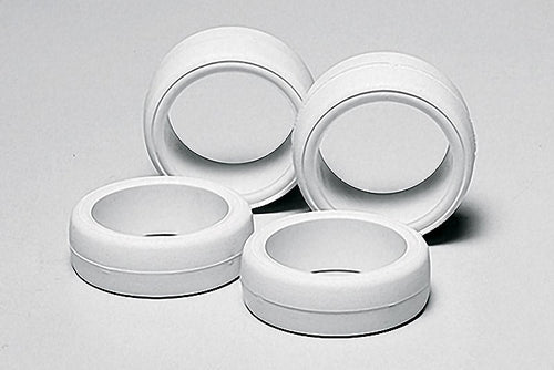 JR Lg Dia Hard Tire Set White