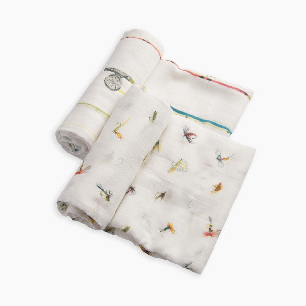 Little Unicorn Deluxe Bamboo Swaddle (2 Pack)