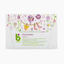 Load image into Gallery viewer, Babyganics Dryer Sheets (120 Count)
