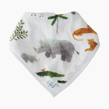 Load image into Gallery viewer, Loulou Lollipop Bamboo Bandana Bib Set