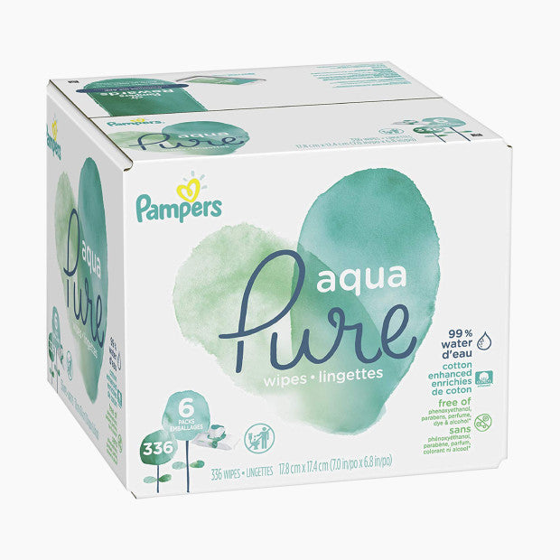 Pampers Pure Baby Wipes