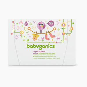 Babyganics Dryer Sheets (120 Count)