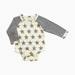 Babysoy Organic Cotton Star Bodysuit