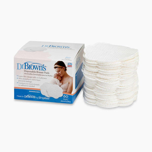 Dr. Brown's Disposable Breast Pads (60-Pack)