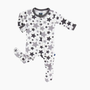 KicKee Pants Essentials Print Footie