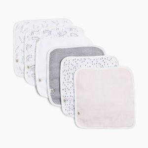 Snugabye Terry Washcloth (6 Pack)