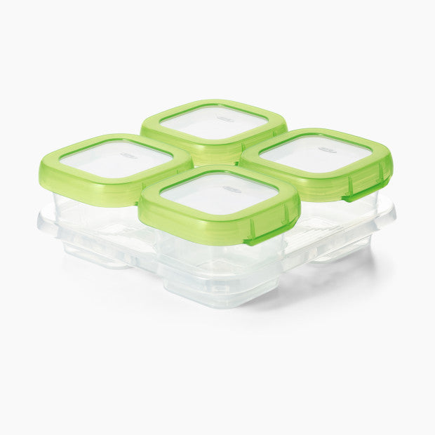 OXO Tot Baby Blocks 4oz Freezer Storage Containers