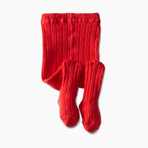 Jefferies Socks Cable Knit Tights