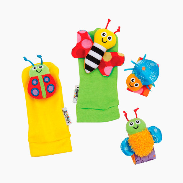 Lamaze Garden Bug Wrist Rattle & Foot Finder Set