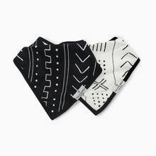 Load image into Gallery viewer, Loulou Lollipop Bandana Bib Set (2 Pack)