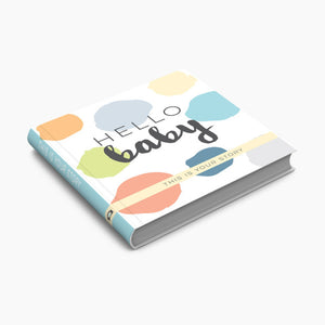 Sticky Bellies Hello Baby Memory Book
