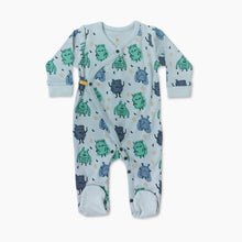 Load image into Gallery viewer, Finn + Emma Organic Cotton Footie