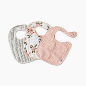 Little Unicorn Cotton Muslin Classic Bib (3 Pack)
