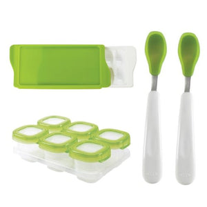 OXO Tot Feeding 3 Pack (Spoons, Storage Containers, Freezer Tray)