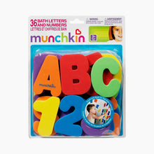 Load image into Gallery viewer, Munchkin Learn Bath Letters & Numbers Set