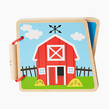 Load image into Gallery viewer, Hape Wooden Baby Book