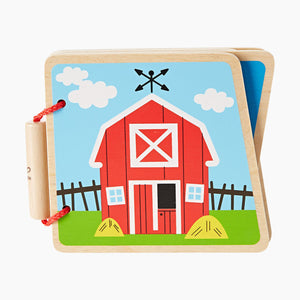 Hape Wooden Baby Book