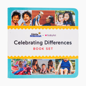 Little Feminist Celebrating Differences Book Set