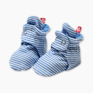 Zutano Candy Stripe Cotton Baby Booties
